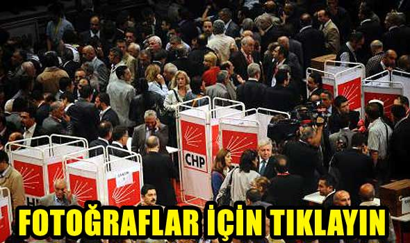 CHP, Parti Meclisi belirlendi