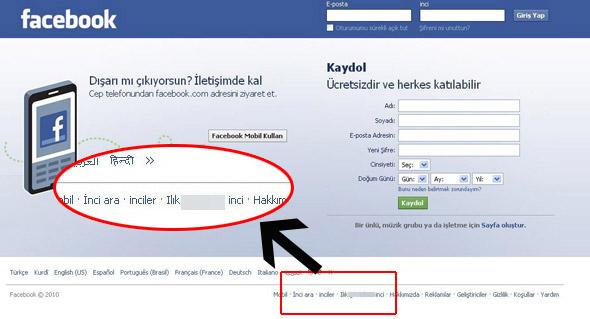 Facebooka sinkaflı saldırı