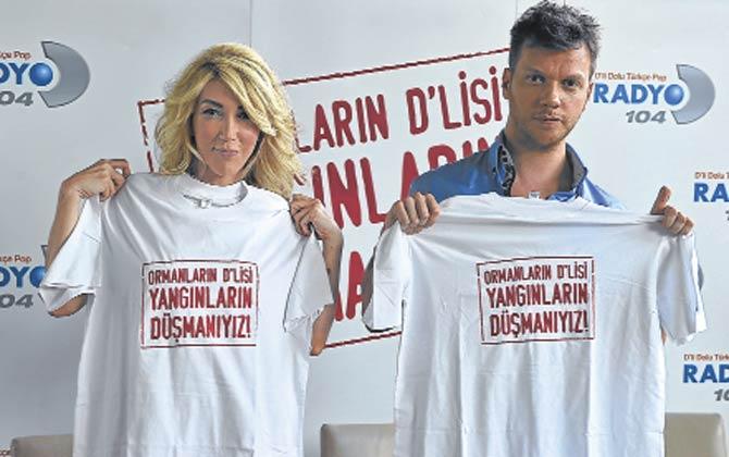 Radyo D'nin kampanyasına şarkılı destek