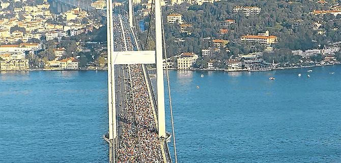 Maraton sabotaj gibi köprüde hasar olabilir