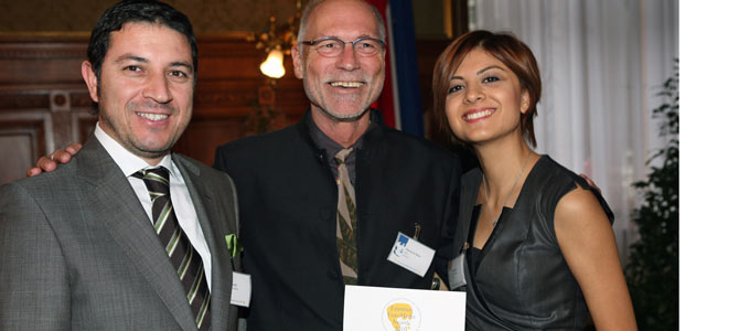 Avrupa'nın En Prestijli Medya Ödülü'nü Kazandı!