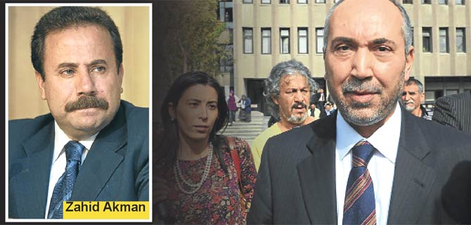 Karaman ve Akman resmen sanık
