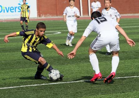U14 Akademi Ligi... Fenerbahçe: 4 - Beşiktaş: 0