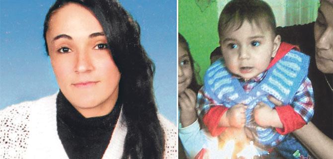 Anneyi öldürdüler küçük çocuğu kayıp
