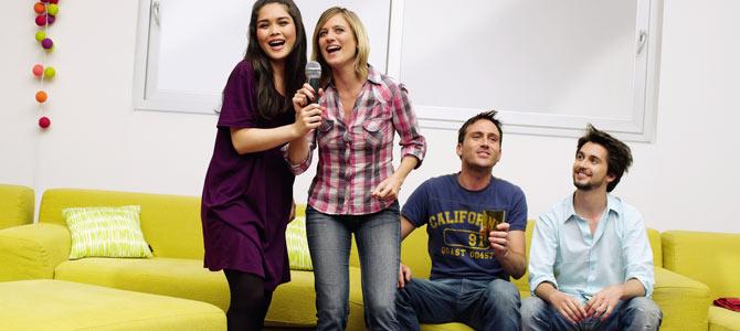 Yeni yıla karaoke ile girin!