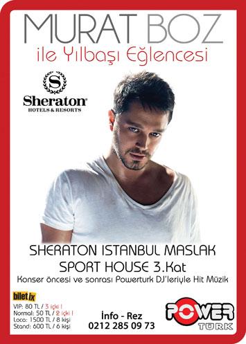 Sheraton İstanbul 2011