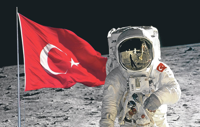 Türk astronot ile ilgili görsel sonucu