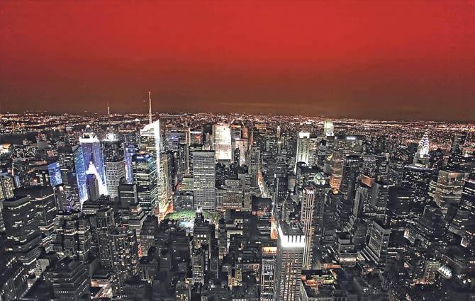 New York'a 50 milyon turist