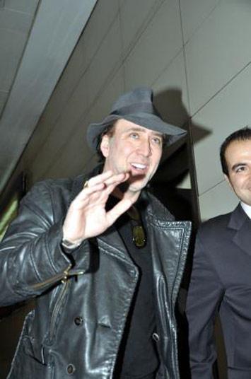 Nicolas Cage İstanbulda!