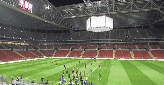 Aslantepe - Türk Telekom Arena Gidiş Yolu tarifi