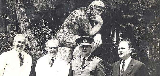 Hastaların yaptığı heykel 60 yaşında