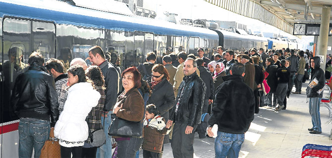 İZBAN'da hedef 2 milyon yolcu
