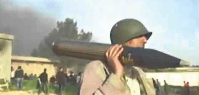 Libya'da keskin nişancı katliamı