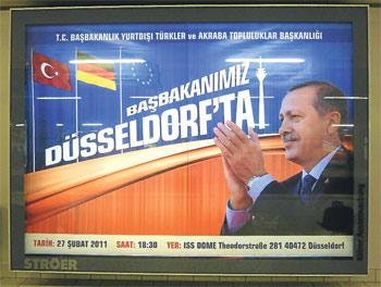Erdoğanafişi Almanları kızdırdı