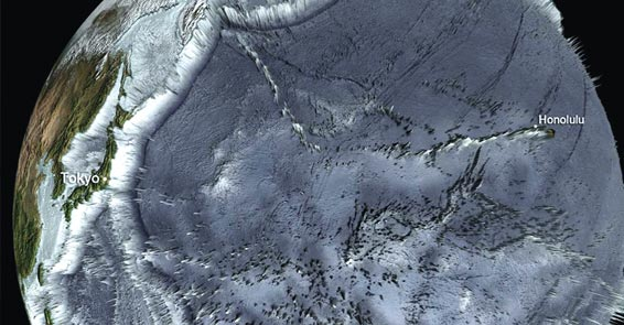 Uzaydan tsunami dehşetinin boyutları
