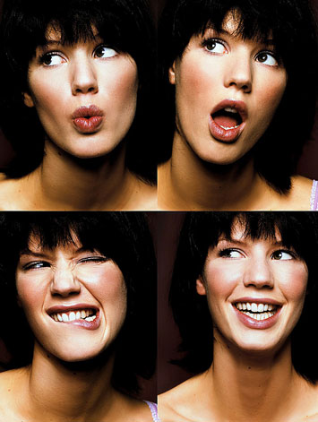 Mutlu yüz egzersizleri