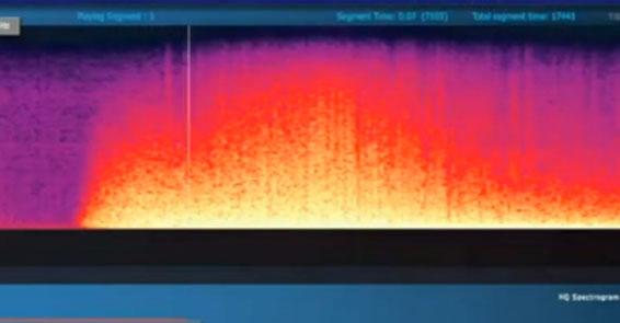 İşte depremin sesi!