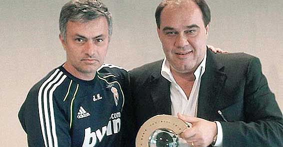 Demirören, Mourinho ile buluştu