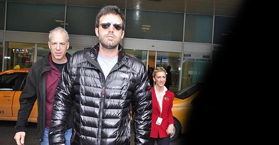 Ünlü aktör Ben Affleck İstanbulda