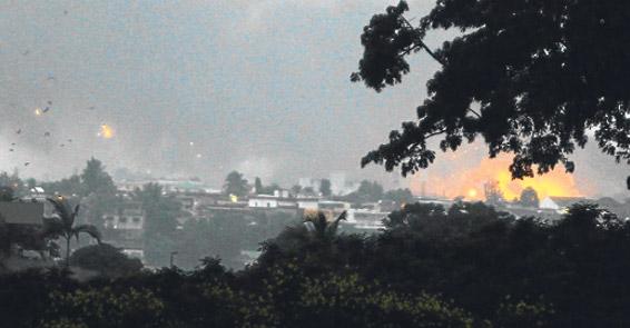 Sarkozy, Fildişi Sahili diktatörüne füze yağdırdı