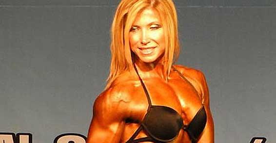 TRT muhabiri vücut geliştirme şampiyonu oldu