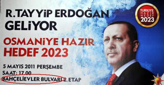 Başbakan Erdoğan olmayan bir adreste miting yapacak