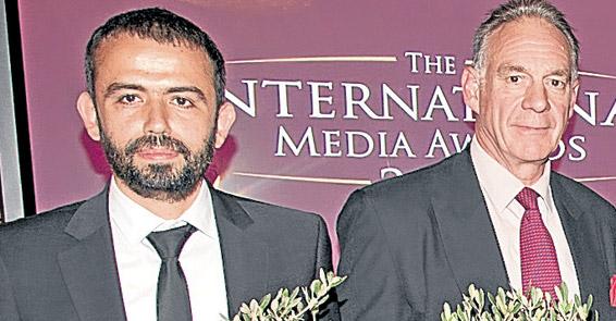Türk kameramana basın özgürlüğü ödülü