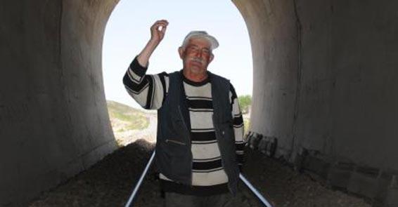 38 yılda bitirilen tünelin Başbakan'a konu olan bekçisi konuştu