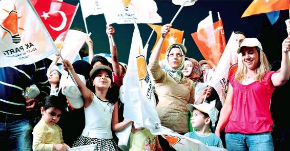 AK Parti İstanbul'da açık farkla kazandı