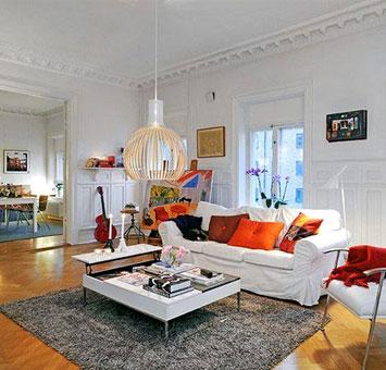 30 skandinav tarz otuma odas dekorasyon haberleri for 30 metrekare salon dekorasyonu