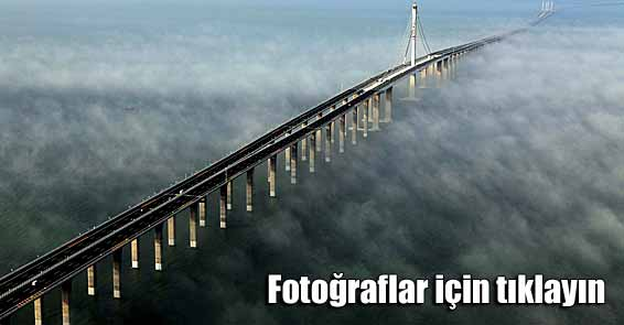 Dünyanın en uzun köprüsü 42 kilometre