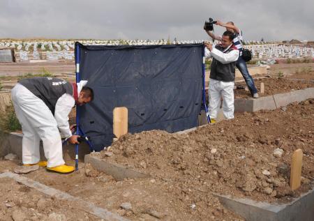 Madımak firarisi Erçakmakın mezarı açılıyor