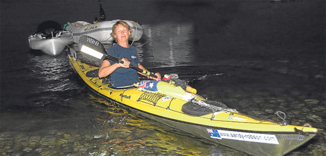 5 metrelik kanoyla 50 bin kilometre