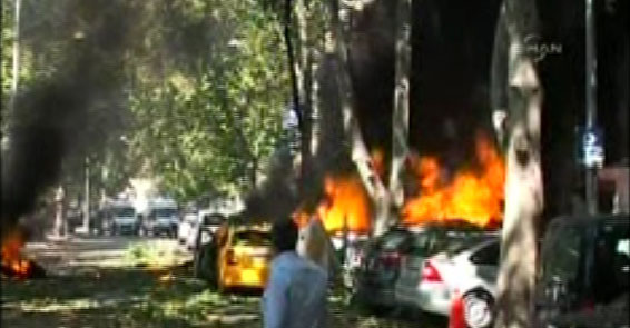 Ankara'da şiddetli patlama: 3 kişi yaşamını yitirdi