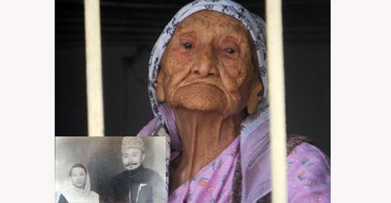 Dünyanın en yaşlı kadını resimler