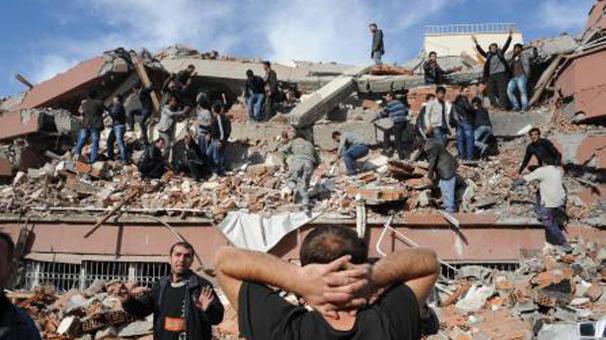 Van'daki deprem Irak'ta bile hissedildi