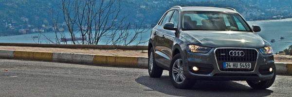 Kompakt SUV sınıfında çığır açan Audi Q3, yılın son çeyreğinde Türkiye'de