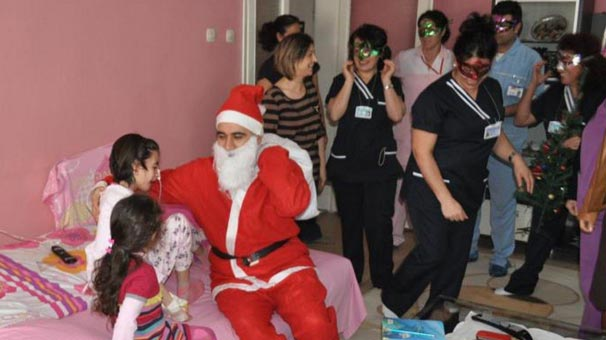 Doktora 'Hastanede Noel Baba olmaz' soruşturması