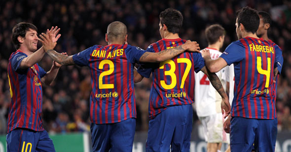 Barça 7 bitirdi