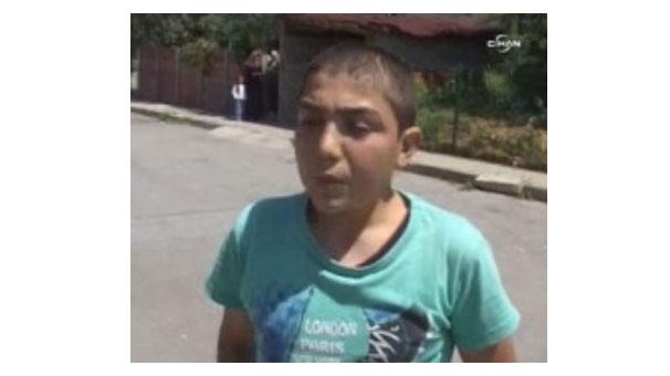 'Oğlum bak git' isimli videodaki çocuk konuştu