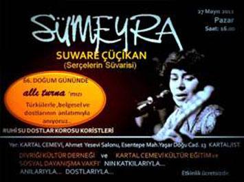 Sümeyra Çakır bu konserle anılacak!