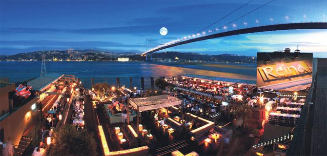 Yazın istanbul'da gece hayatı deyince akla ilk gelen iki ismin