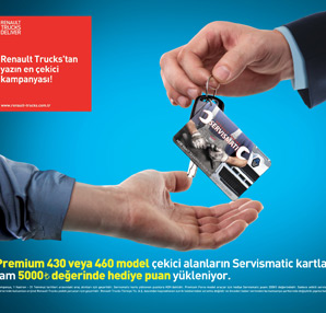 Renault Trucks'tan yazın en ÇEKİCİ kampanyası !