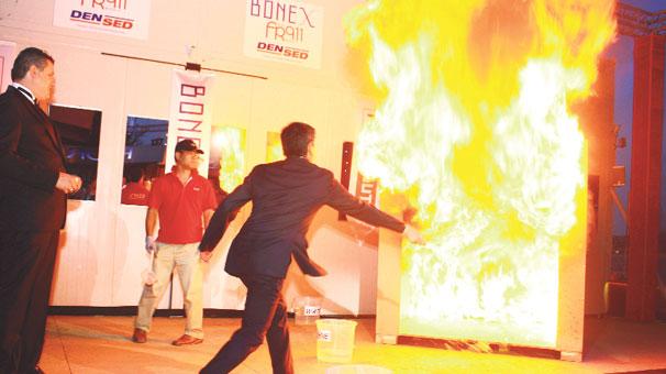Yangın söndürmede Japon teknolojisi