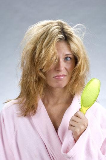 Saçlarınızı dökülüyorsa...