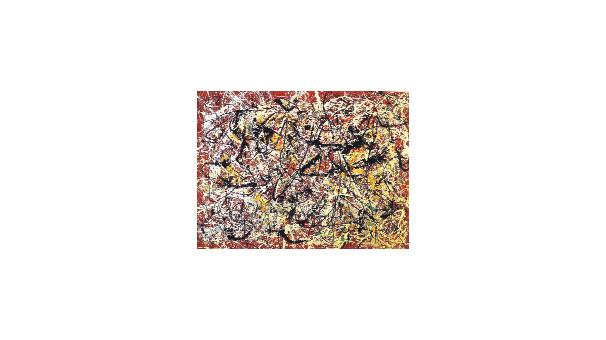 Pehlevi nin modern sanat koleksiyonu ortaya kt son for Mural on indian red ground