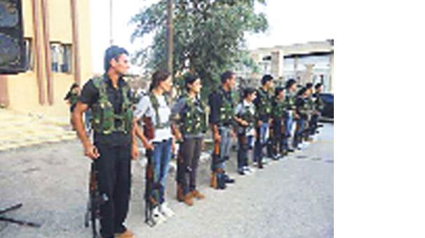 PYD'nin küçük askerleri!