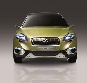 Suzuki S-Cross Paris Otomobil Fuarı'nda tanıtıldı!