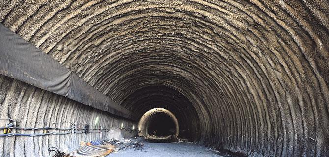Türkiye'nin 4. büyük tüneli