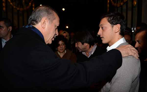 Resultado de imagen para Recep Tayyip Erdogan ozil